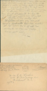 July 1 1944 page two and envelope