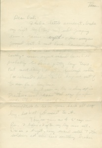 July 13 1944 pg 1 letter to dad