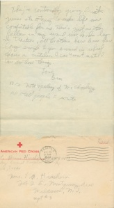 July 14 1944 pg 2 and envelope
