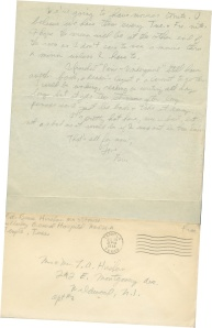 July 18 1944 pg 2 and envelope