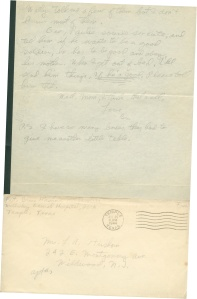 July 24 1944 pg 2 and envelope