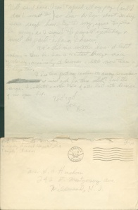 July 25 1944 pg 2 and envelope