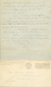July 29 1944 pg 2 and envelope