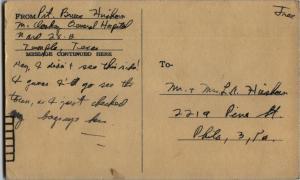 Dec.20 1944 postcard front