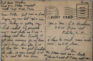 Feb 8 1945 postcard back
