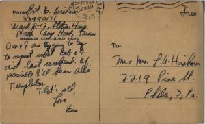 Feb 23 1945 postcard p2